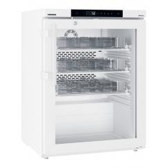 Liebherr MKUv 1613 var. H63 típusú, gyógyszerészeti, laboratóriumi üvegajtós hűtőszekrény