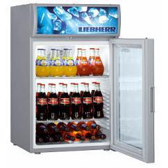 Liebherr BCDv 1003 típusú, kereskedelmi, üvegajtós hűtőszekrény