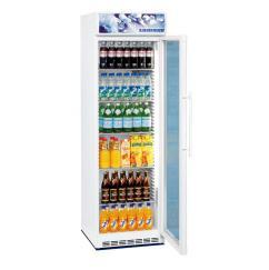 Liebherr BCDv 4313 típusú, kereskedelmi, üvegajtós hűtőszekrény