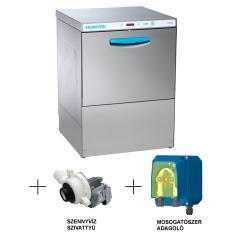 Hoonved CE60 FULL pult alatti típusú ipari nagykonyhai tányér- és pohármosogatógép
