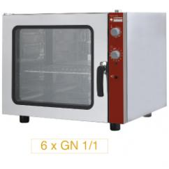 CGE611-NP típusú ipari, nagykonyhai, Légkeveréses sütő