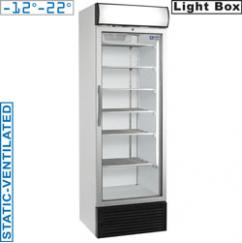 E50NC/SV típusú ipari kereskedelmi üvegajtós fagyasztószekrény