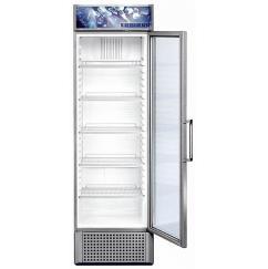 Liebherr FKDv 3713 típusú, kereskedelmi, üvegajtós hűtőszekrény