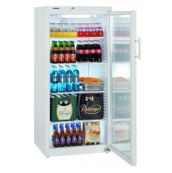 Liebherr FKv 5443 típusú, kereskedelmi, üvegajtós hűtőszekrény