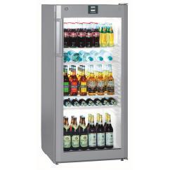Liebherr FKvsl 2613  típusú, kereskedelmi, üvegajtós hűtőszekrény