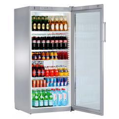 Liebherr FKvsl 5413 típusú, kereskedelmi, üvegajtós hűtőszekrény