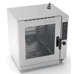 GOM10DSL  típusú gázos kombi sütő, gőzpároló