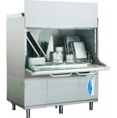 LP31Lek típusú, ipari- nagykonyhai feketeedény mosogató gép, ládamosogató gép