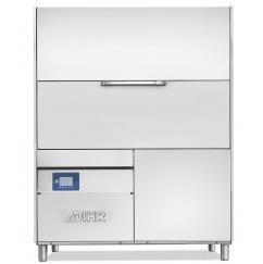 DIHR LP4 S8 PLUS típusú, ipari- nagykonyhai feketeedény mosogató gép, ládamosogató gép