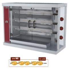 RVG/3-MX típusú ipari, nagykonyhai, Grillcsirke sütő