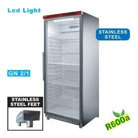 PV600X/G-R6 típusú ipari, nagykonyhai, Légkeveréses hűtőszekrény