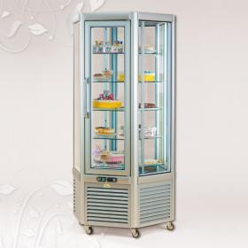 Diamante630TNV-PE típusú, süteményes hűtővitrin