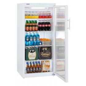 LIEBHERR FK 5442 típusú, ipari, nagykonyhai, kereskedelmi statikus üvegajtós hűtőszekrény
