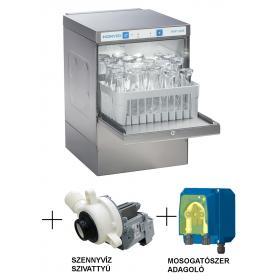 Hoonved HSP4A FULL pult alatti típusú ipari nagykonyhai pohármosogatógép