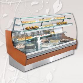LUCE900 típusú, süteményes hűtővitrin