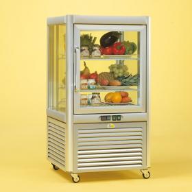 Prisma200TNV/PF típusú, süteményes hűtővitrin