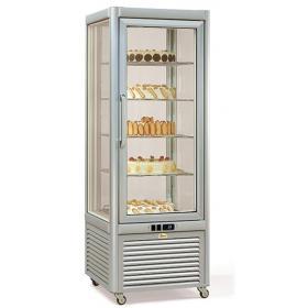 Prisma400TNV/PF típusú, süteményes hűtővitrin