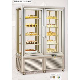Prisma800TNV/PF típusú, süteményes hűtővitrin